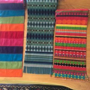 Set of 3 St. John's Bay Scarves
